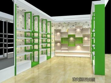 现代风格展示柜