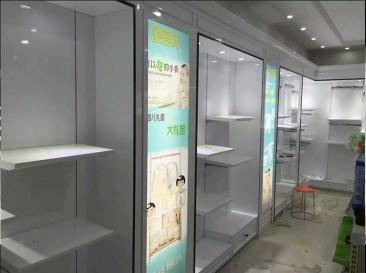 环保婴童展示柜