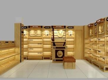 木质烟酒展柜