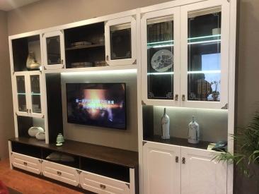 电视背景墙柜